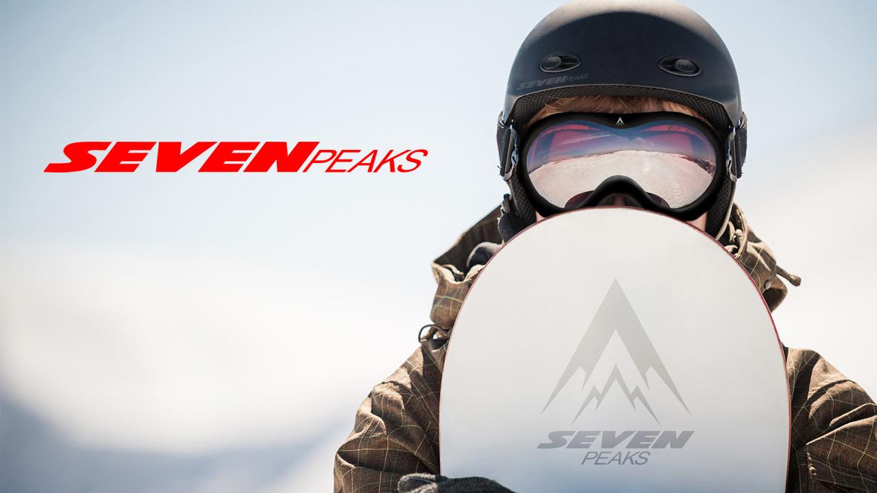 Tes lunettes de ski SEVEN PEAKS