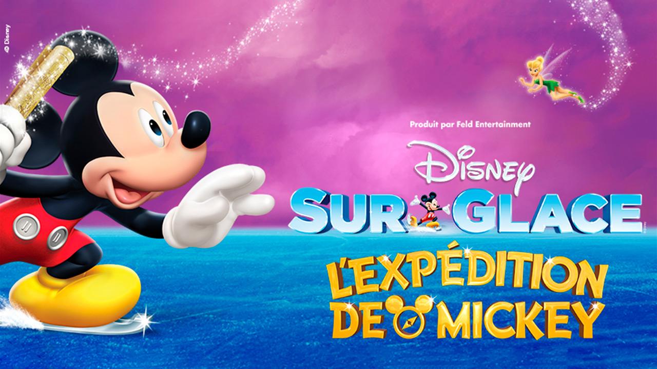 Gagnez votre forfait familial pour voir Disney sur glace!