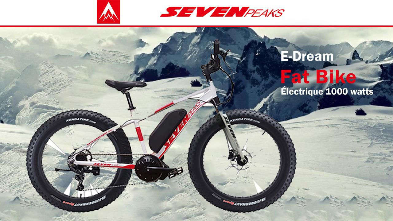 Ton Fat Bike de Seven Peaks