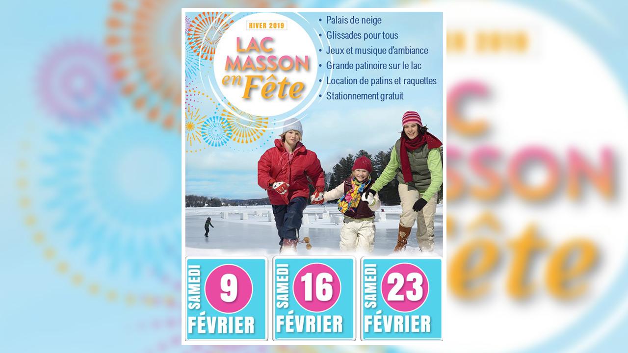Participez à Lac Masson en fête - édition hiver 2019