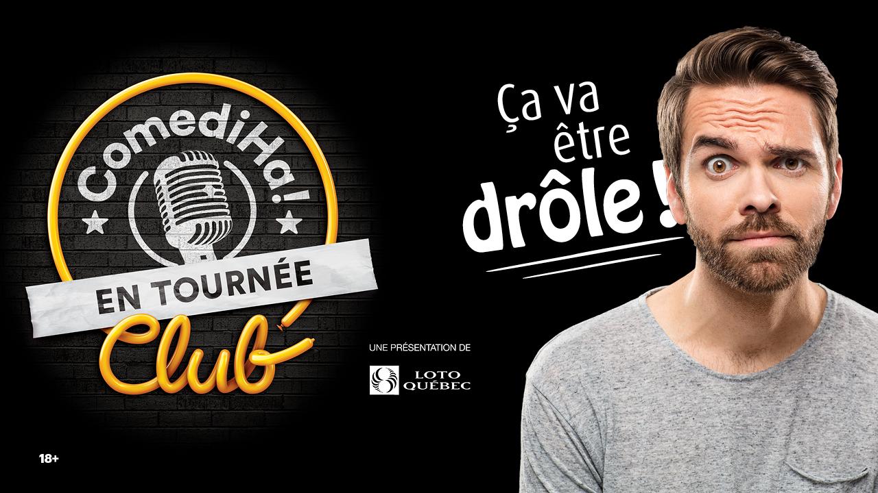 SOIRÉE DE RIRE AVEC LE COMEDIHA! CLUB