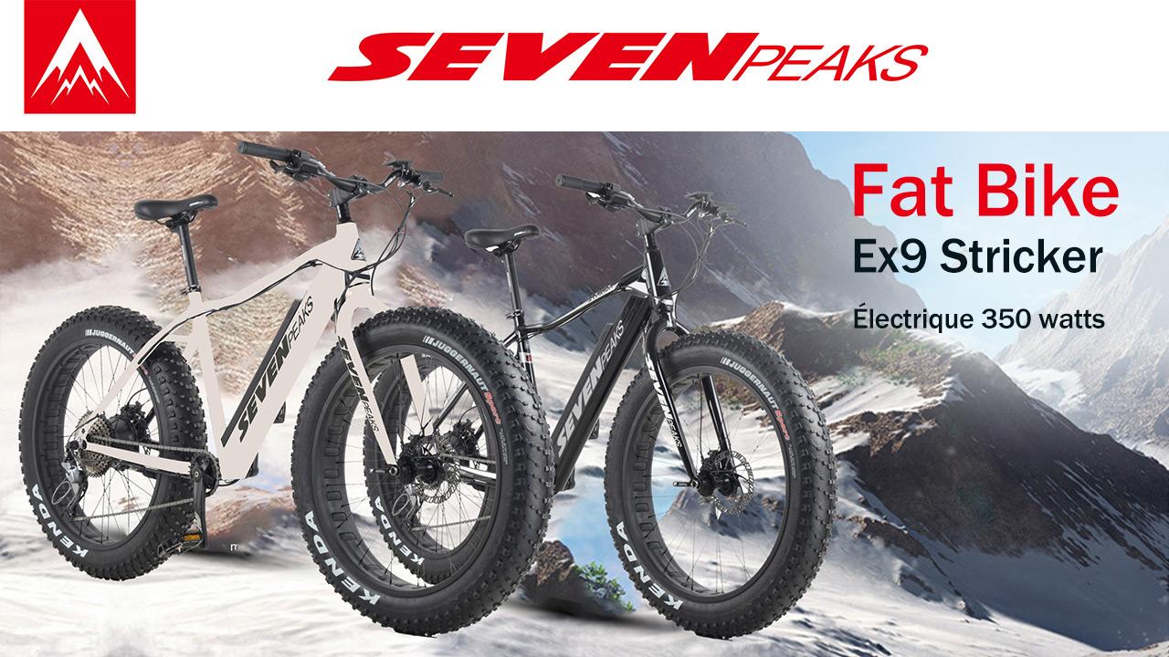 Le Clan te donne ton Fat bike Seven Peaks