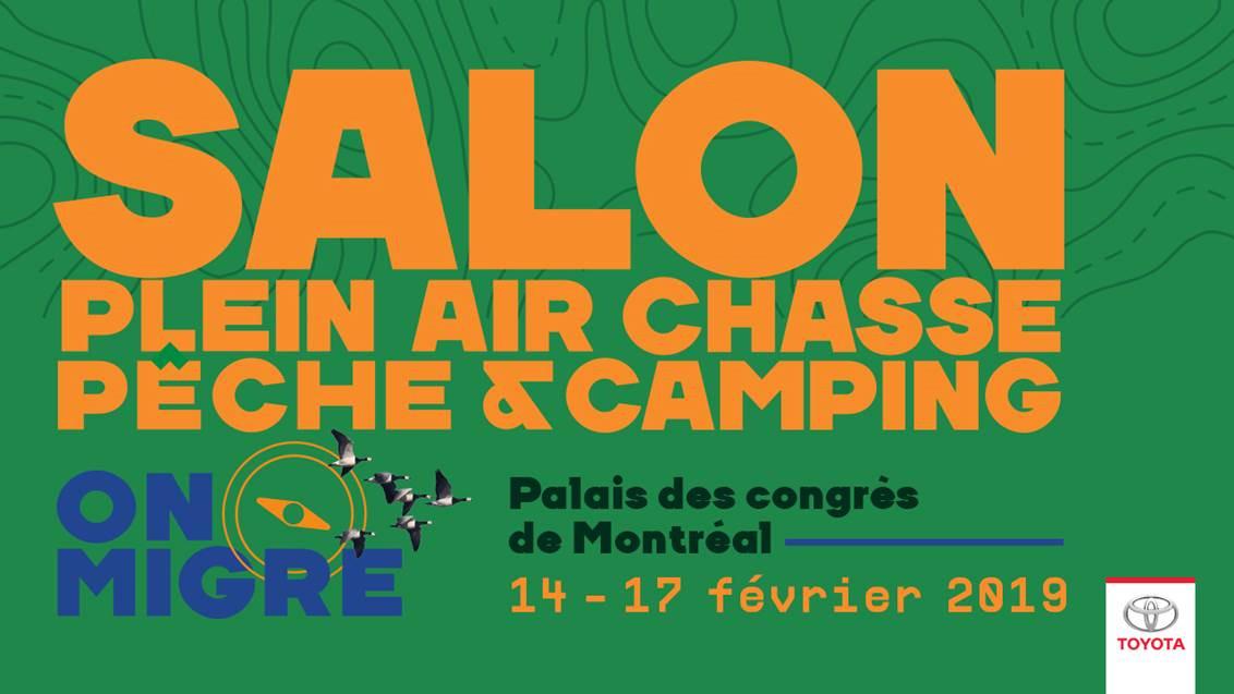 Vos billets pour le Salon Plein air, Chasse, Pêche et Camping de Montréal