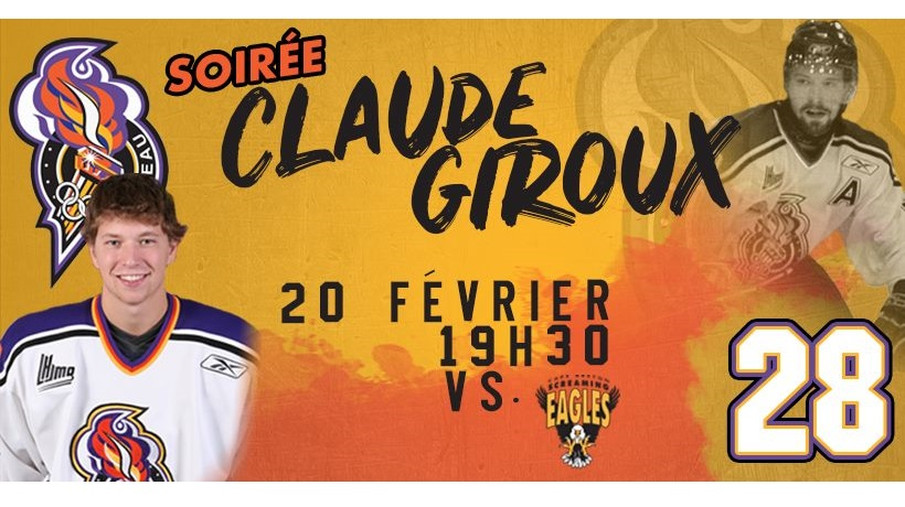 Soirée Claude Giroux