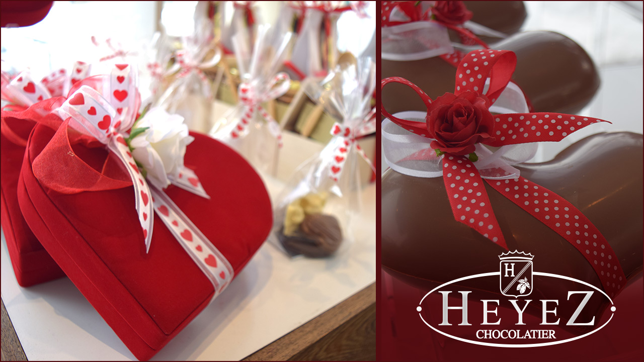 Du chocolat Heyez pour la Saint-Valentin!