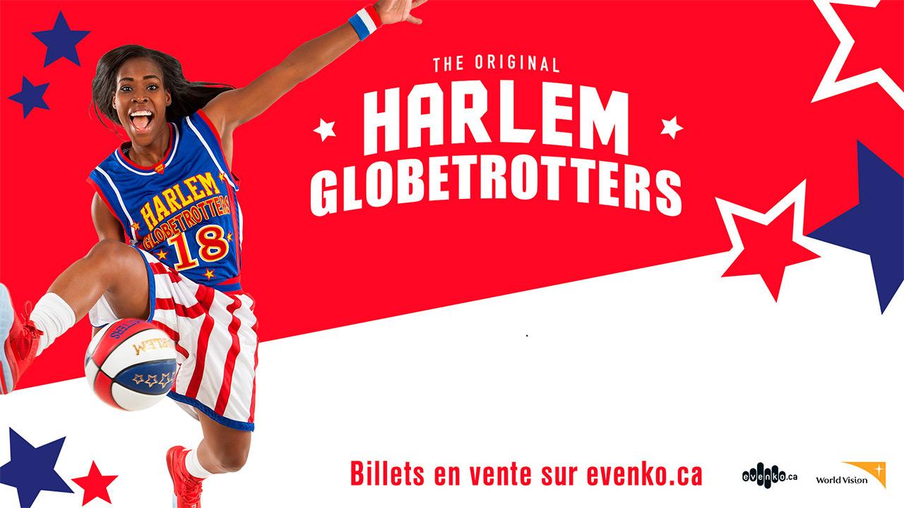 Voyez les Harlem Globetrotters!