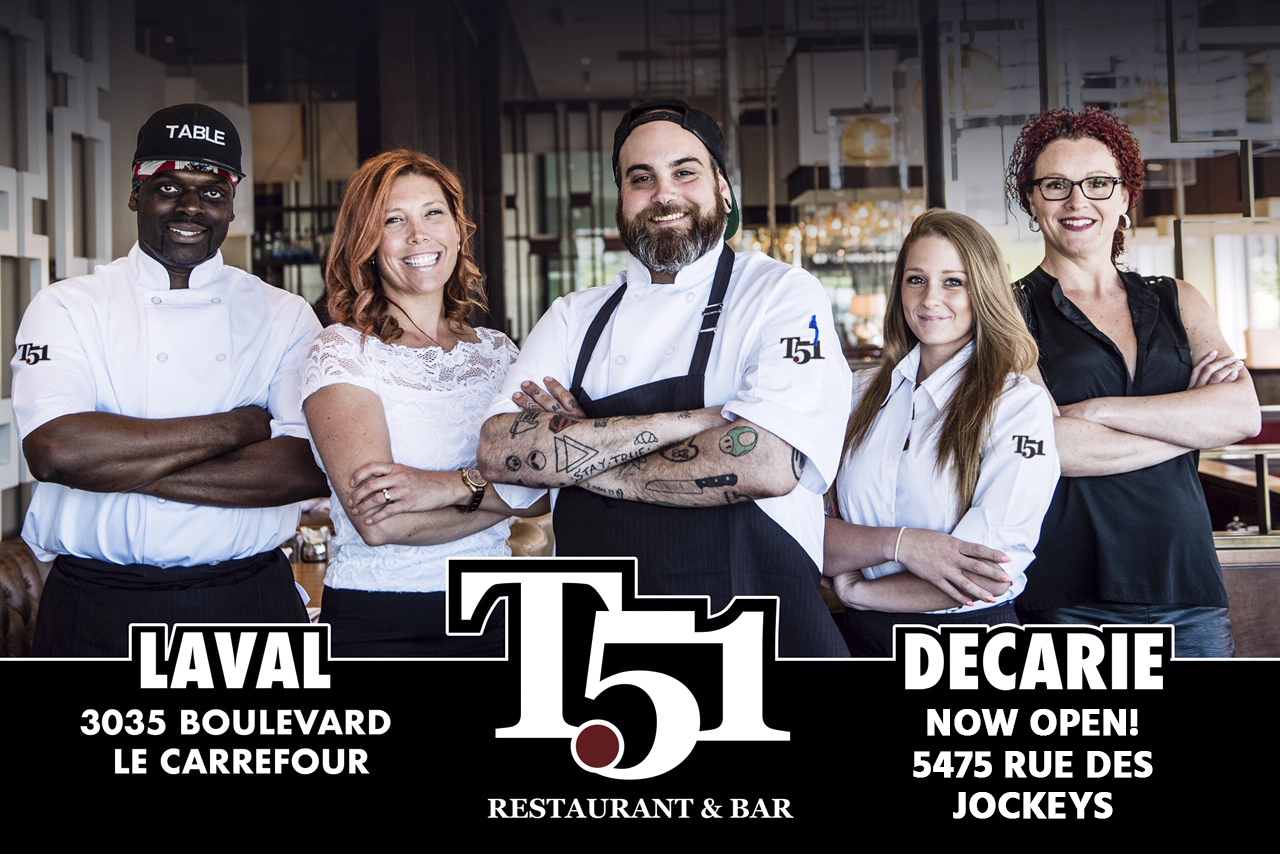 WIN $100 to spend at Table 51!