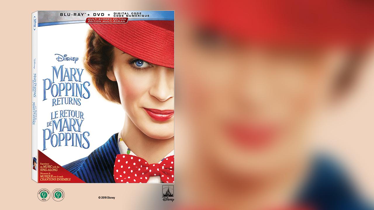 Gagnez votre copie Blu-ray du film Le retour de Mary Poppins