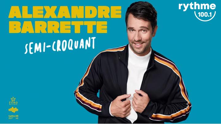 L'incroyable Retour à TR pour le spectacle d'Alexandre Barrette