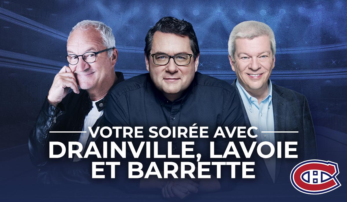 Votre soirée en compagnie de Drainville, Lavoie et Barrette!