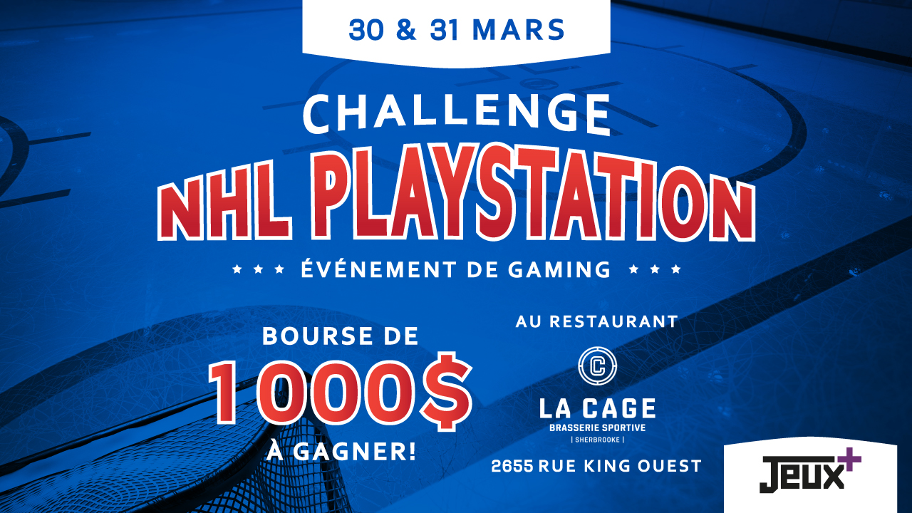 CHALLENGE NHL PLAYSTATION