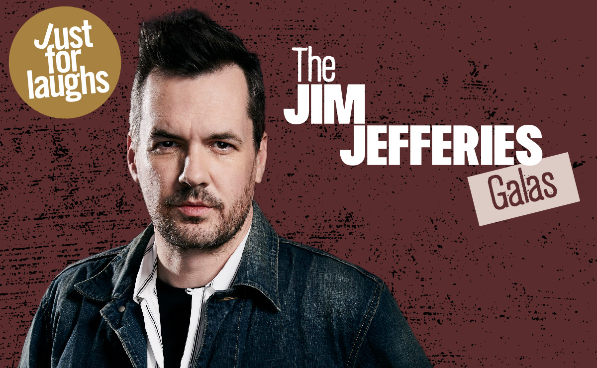 WIN  V.I.P tickets to SEE The Jim Jefferies Galas