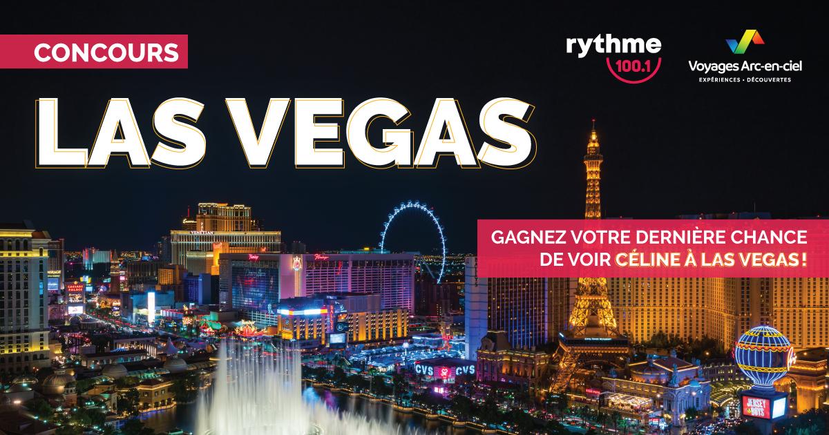 Rythme vous offre votre dernière chance de voir Céline à Las Vegas !