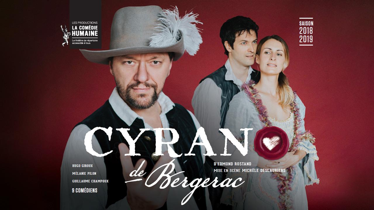Voyez Cyrano de Bergerac au Théâtre Gilles-Vigneault