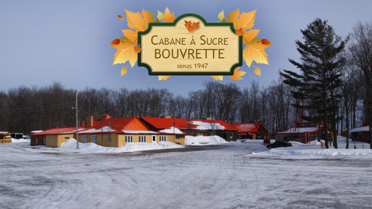 En famille à la Cabane à sucre Bouvrette!
