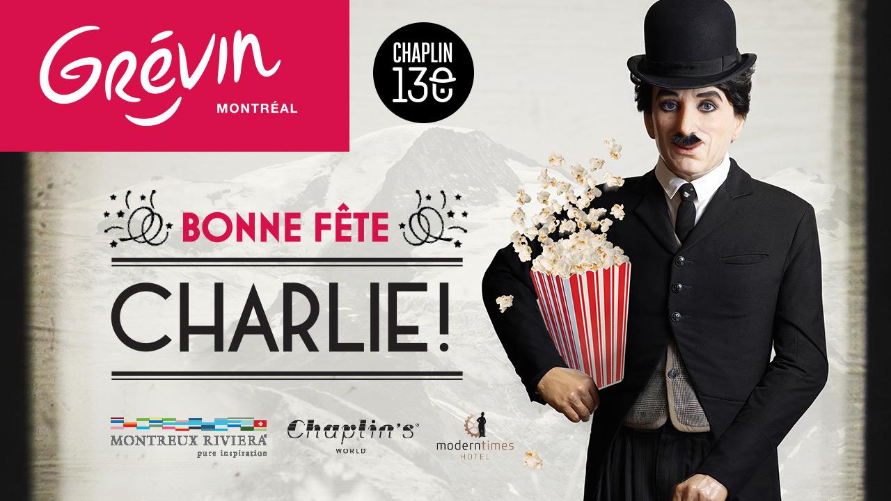 Fêtez les 130 ans de Charlie en vous envolant au Chaplin's World en Suisse!