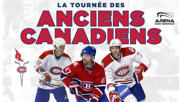 Gagnez votre paire de billets VIP pour la Tournée des Anciens Canadiens