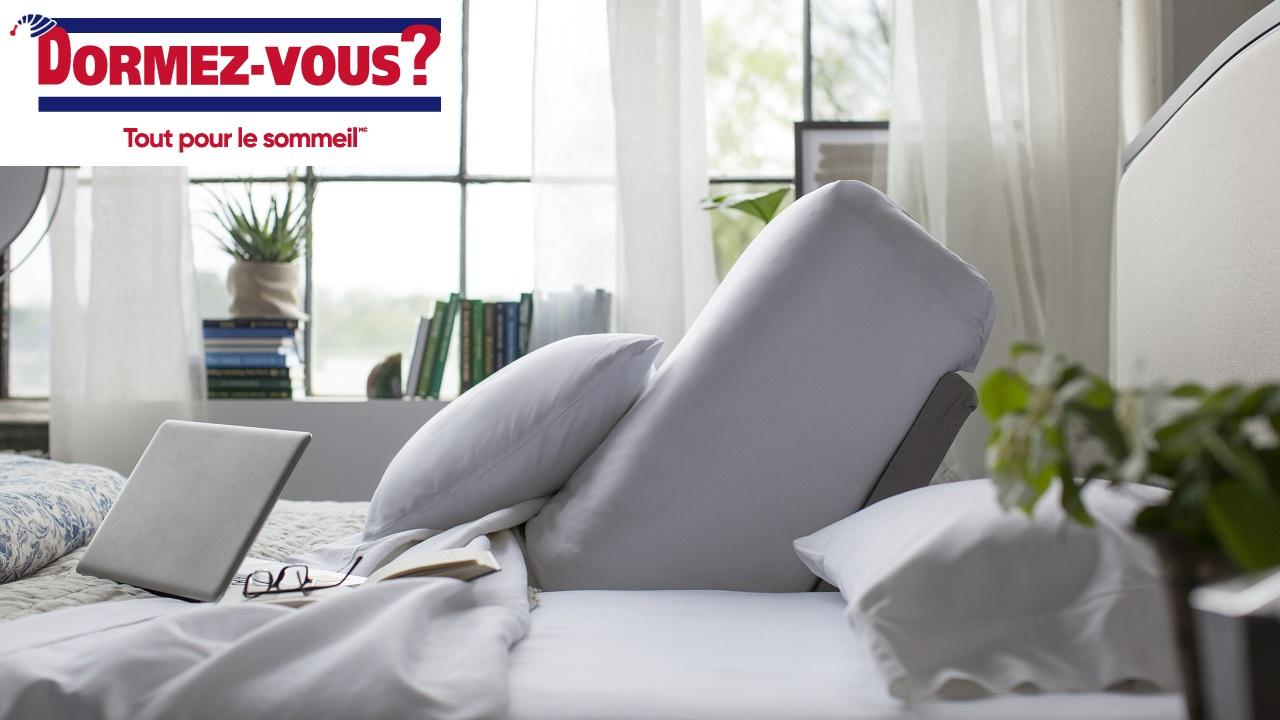 On célèbre l'ouverture d'un nouveau DORMEZ-VOUS au CF Carrefour Laval