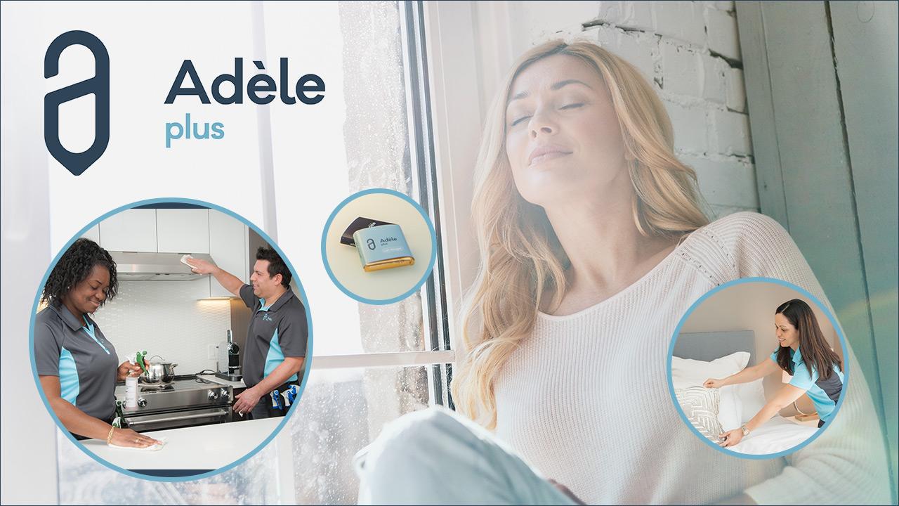 Relaxez! On s'occupe de votre entretien ménager grâce à Adèle Plus!