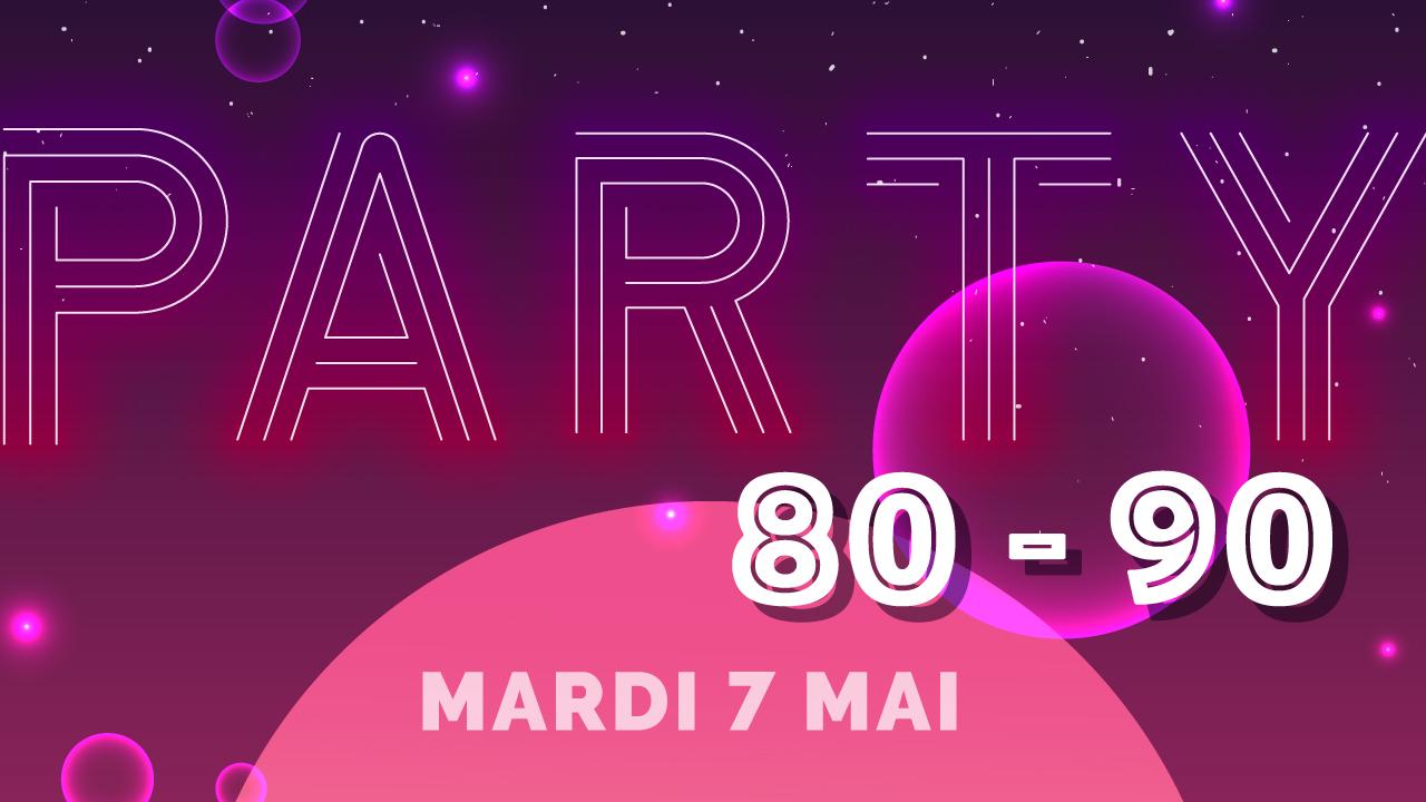 Le Party 80-90