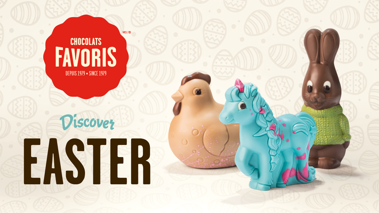 WIN an Easter Gift Basket from Chocolats Favoris!