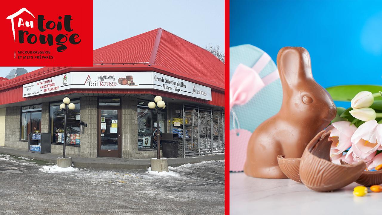 Pour Pâques, gagnez un lapin géant en chocolat !