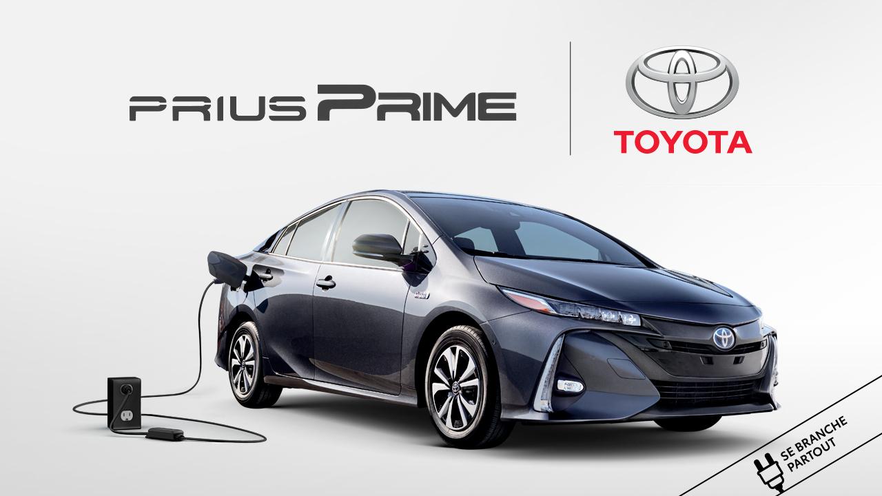 À gagner la location d'une Toyota Prius Prime hybride rechargeable!