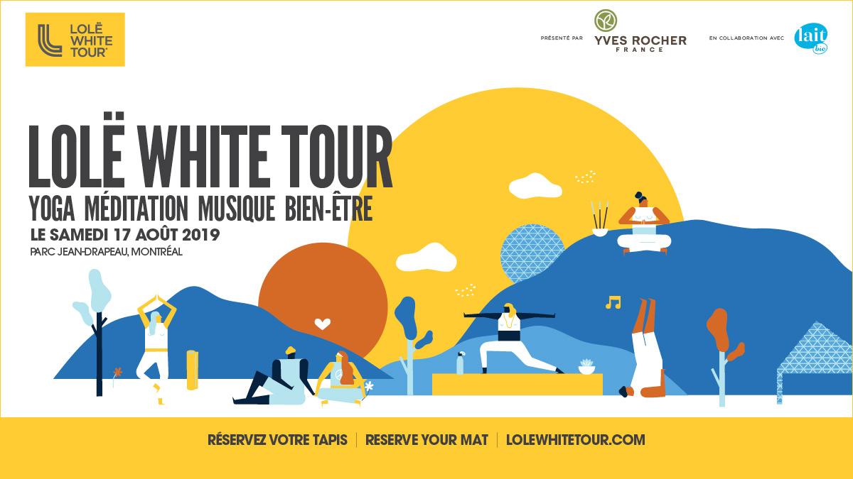 Gagnez vos passes pour le Lolë White Tour 2019!