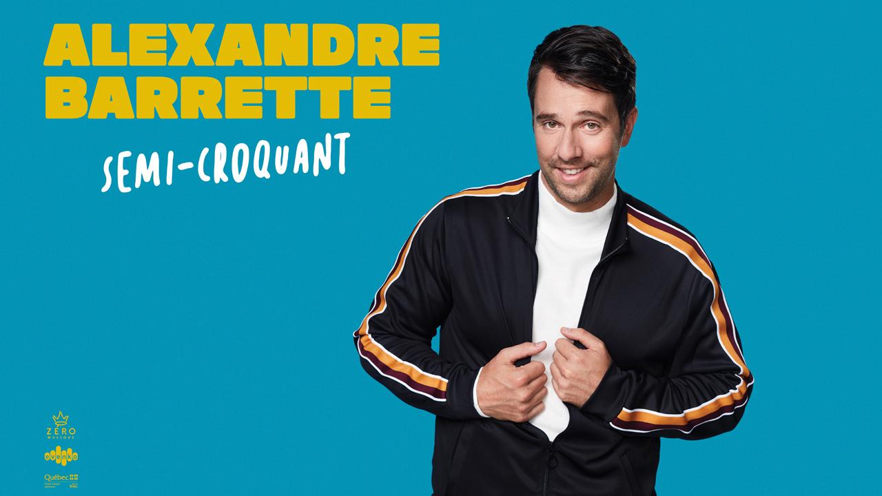 Voyez le show d'Alexandre Barrette grâce à Rythme 93.7