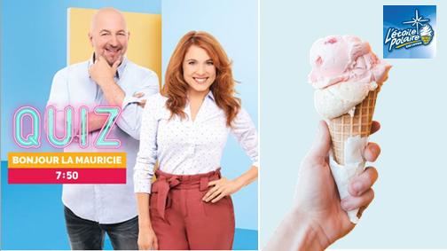 Le QUIZ - Gagnez 25 $ de crème glacée à l'Étoile Polaire !