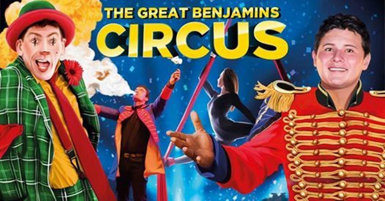 The Great Benjamins Circus débarque à Trois-Rivières