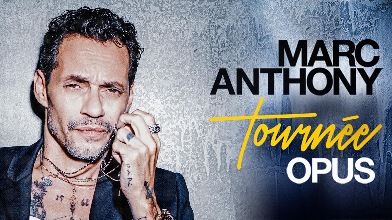 Voyez Marc Anthony au Centre Bell!