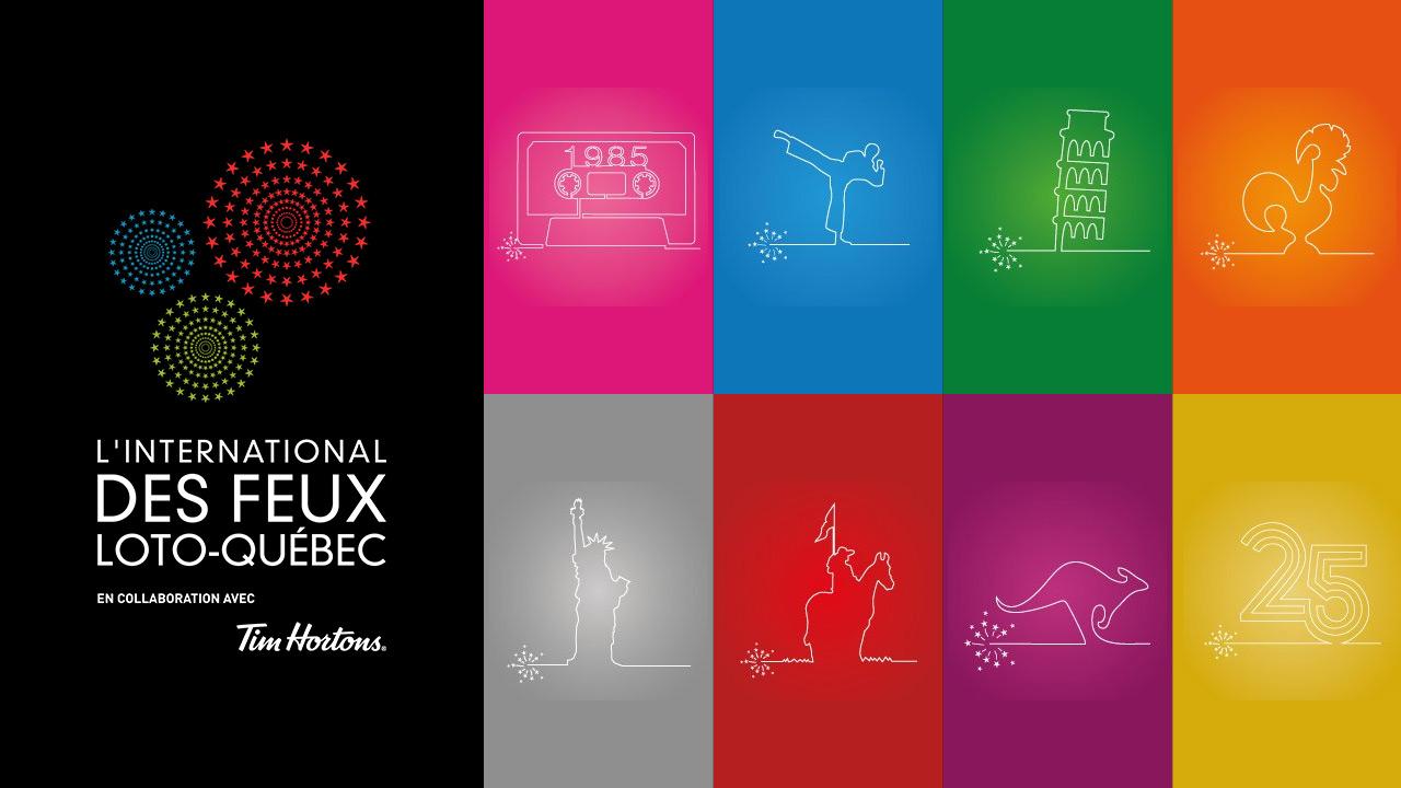 LE GRAND DÉCOMPTE DE L'INTERNATIONAL DES FEUX LOTO-QUÉBEC -35 ans de souvenirs!