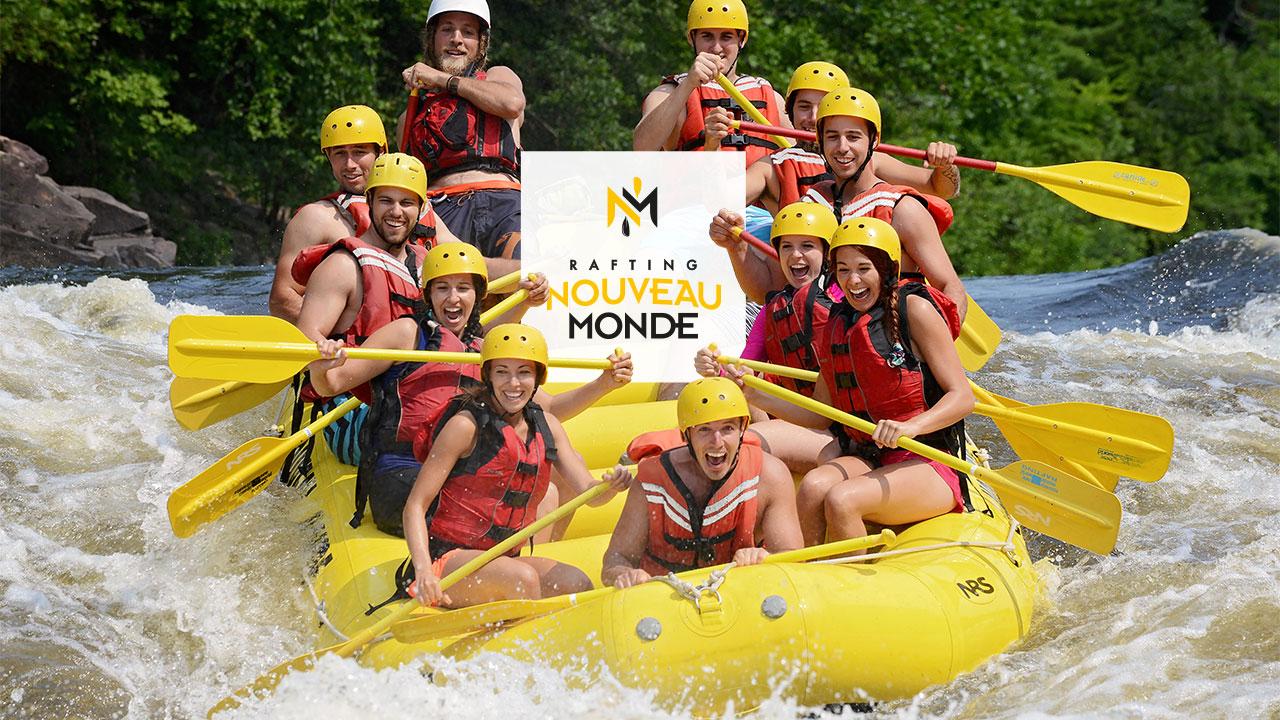 Un forfait familial pour Rafting Nouveau Monde!
