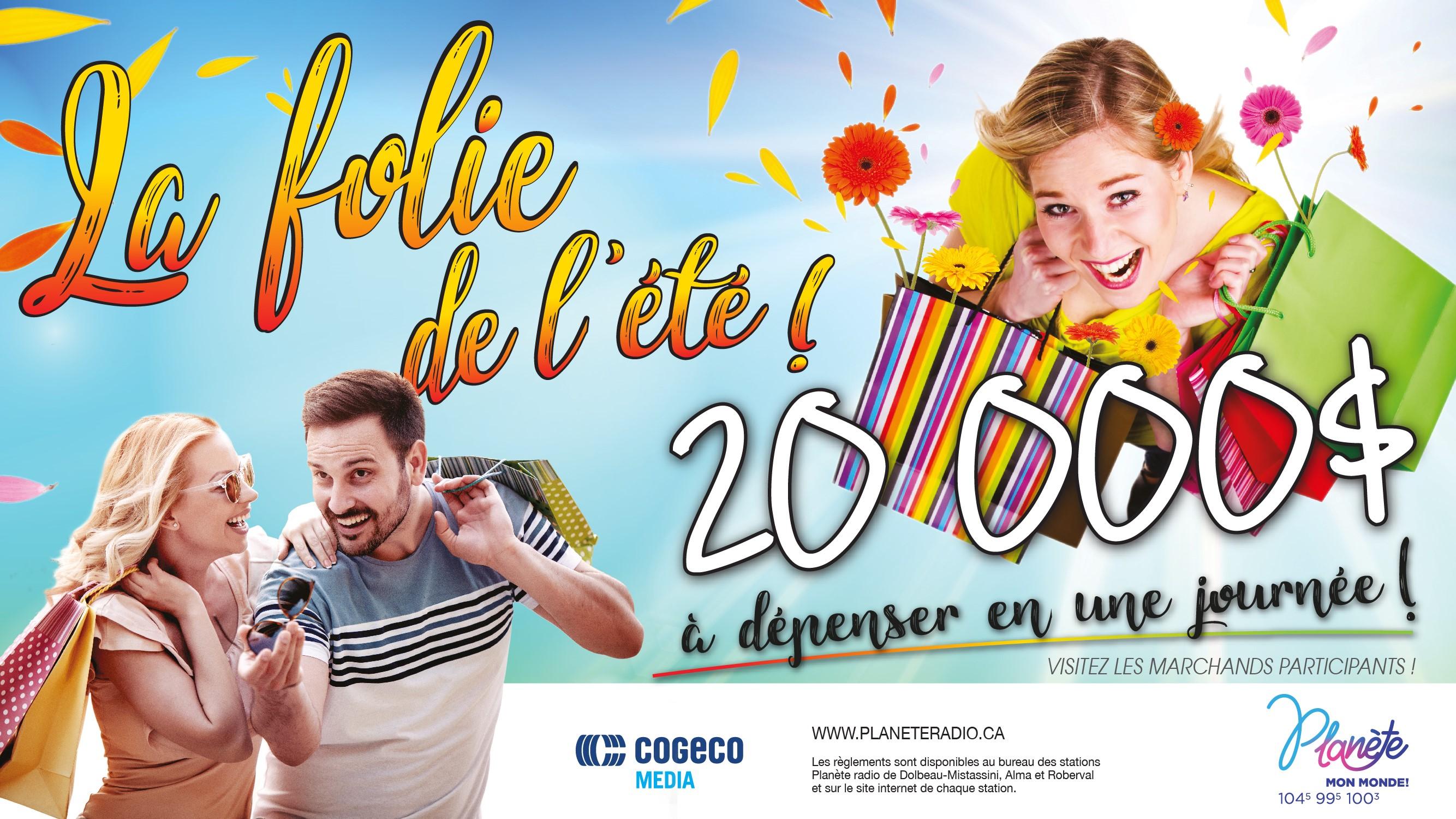 LA FOLIE DE L'ÉTÉ AU 100,3