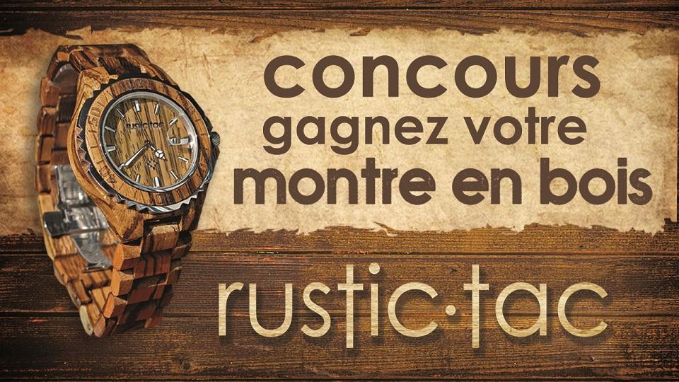 CIME gâte les papas des Laurentides avec une montre Rustic-tac!