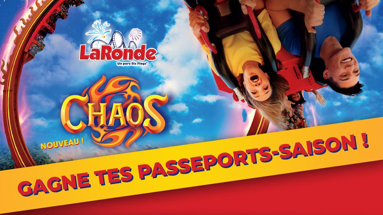 Des passeports-saison pour profiter de La Ronde toute la saison