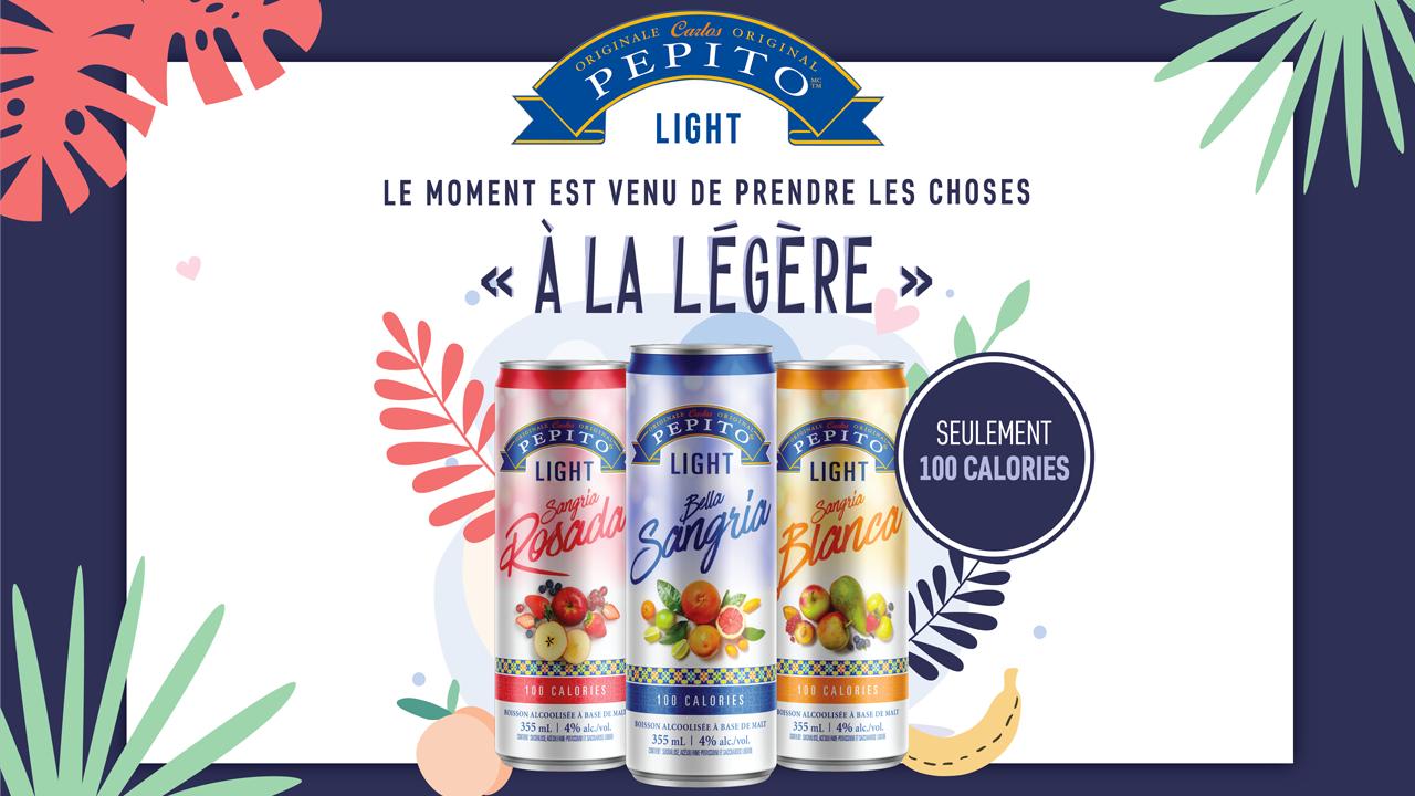 Viva Pepito Sangria et Pepito Light!