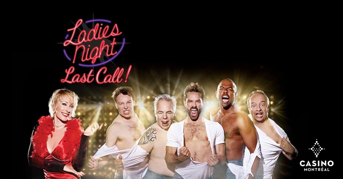 Le spectacle Ladies night au Cabaret du Casino de Montréal!